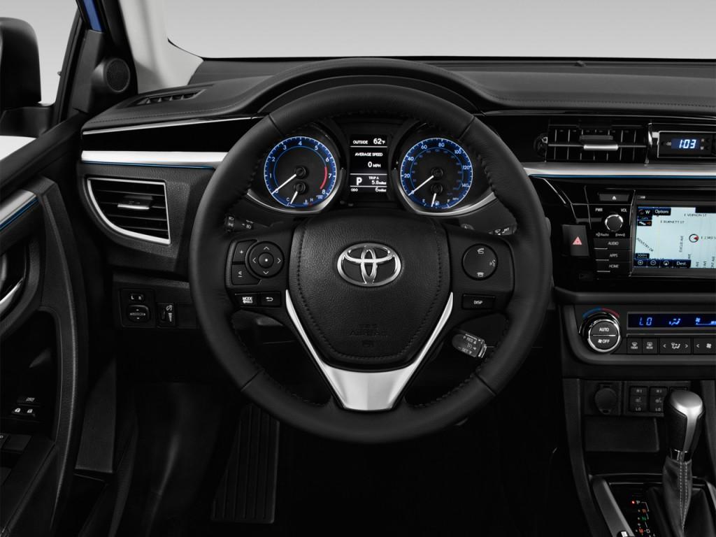 Image: 2016 Toyota Corolla 4-door Sedan CVT S Premium ...