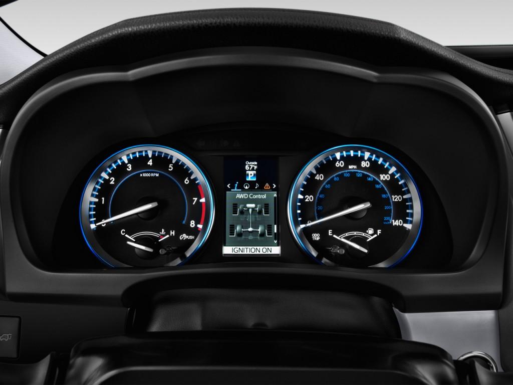 Image 2016 Toyota Highlander Fwd 4 Door V6 Limited Natl Instrument Cluster Size 1024 X 768