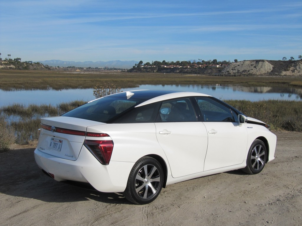 Image 2016 Toyota Mirai Hydrogen Fuel Cell Car Newport
