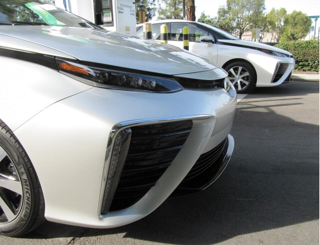Image: 2016 Toyota Mirai hydrogen fuel-cell car, Newport ...