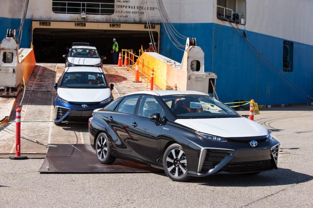 2016 Toyota Mirai U.S. arrival