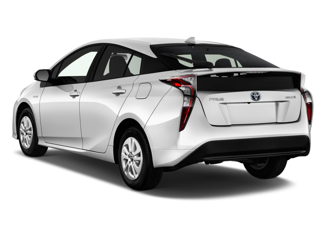 Image 2016 Toyota Prius 5dr Hb Two Natl Angular Rear