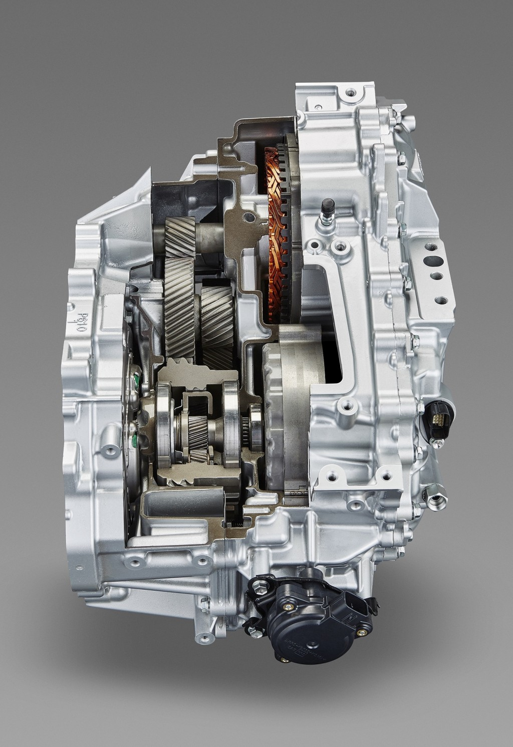 Image: 2016 Toyota Prius - transaxle cutaway, size: 1024 x ...