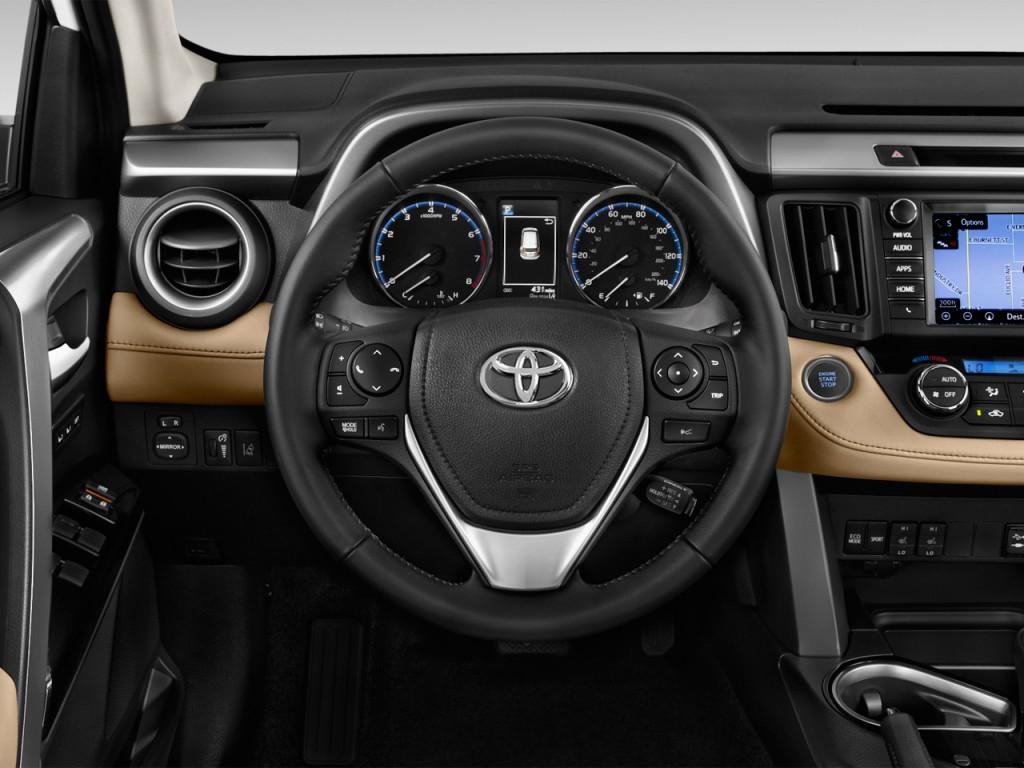 Image 2016 Toyota RAV4 AWD 4 Door Limited Natl Steering