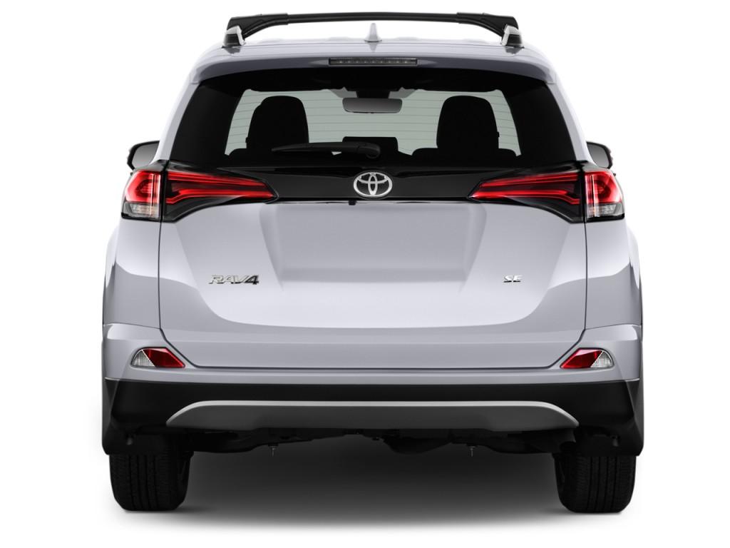 Image: 2016 Toyota RAV4 FWD 4-door SE (Natl) Rear Exterior ...