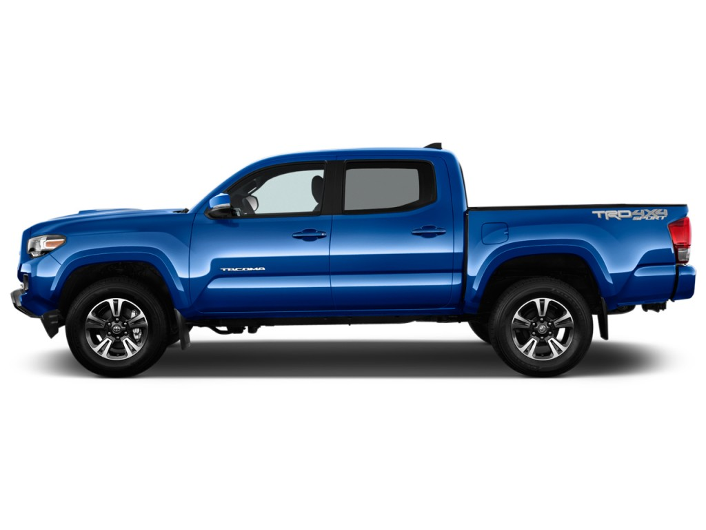 image 2016 toyota tacoma 2wd double cab v6 at trd sport natl side exterior view size 1024 x. Black Bedroom Furniture Sets. Home Design Ideas