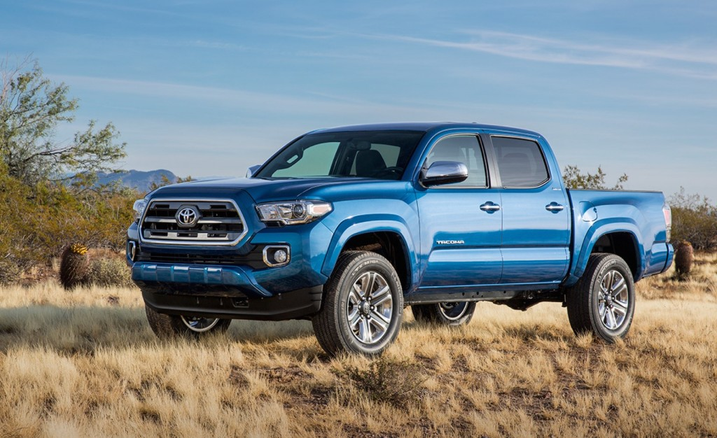 2016 Toyota Tacoma First Look At Redesigned MidSize Truck