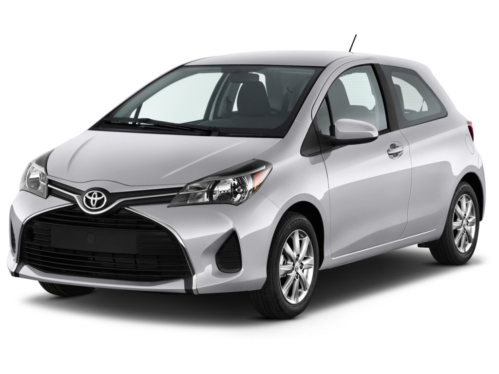 Image 2016 Toyota Yaris 3dr Liftback Auto Le Natl Angular Front Exterior View Size 1024 X