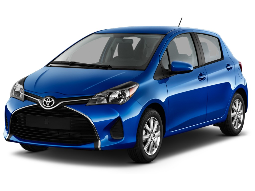 Image 2016 Toyota Yaris 5dr Liftback Auto Le Natl Angular Front Exterior View Size 1024 X