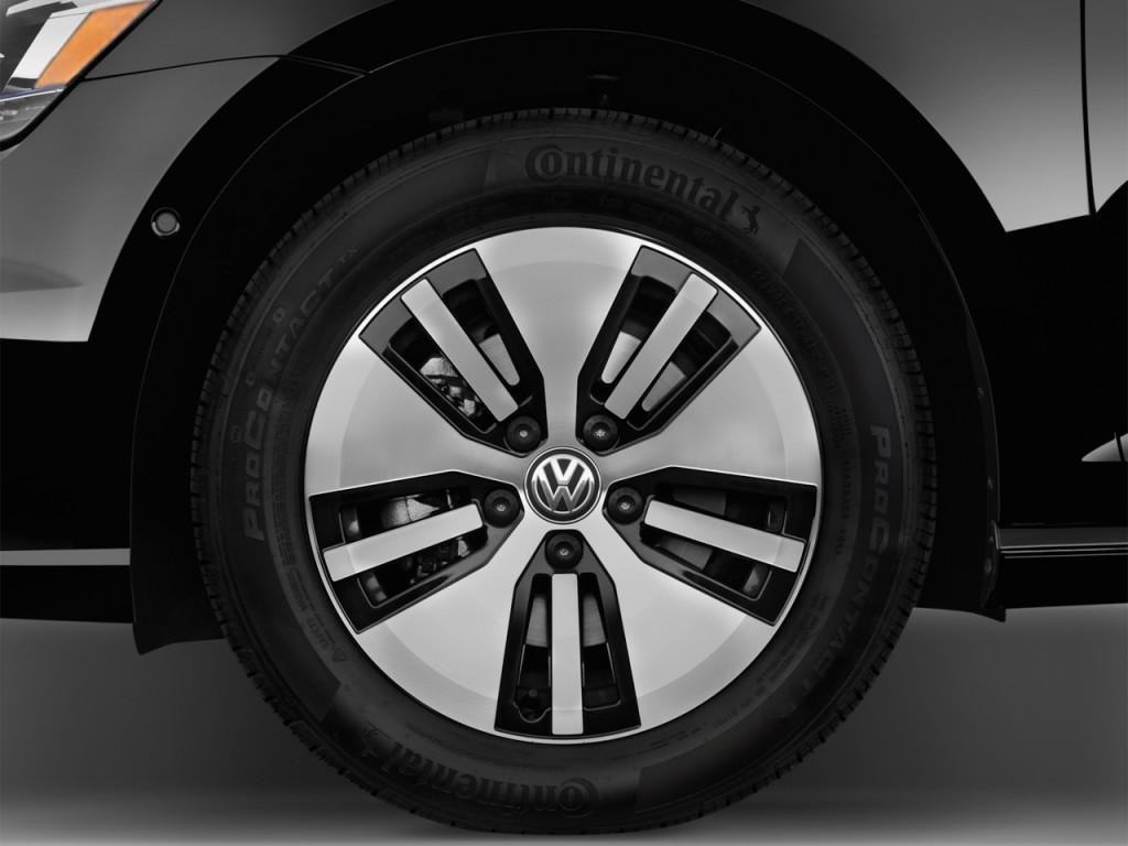 Image: 2016 Volkswagen e-Golf 4-door HB SEL Premium Wheel Cap, size: 1024 x 768, type: gif ...