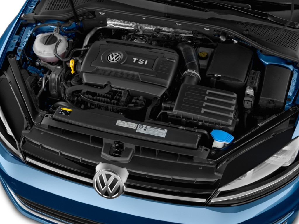 Image: 2016 Volkswagen Golf 4-door HB Auto TSI SEL Engine ...