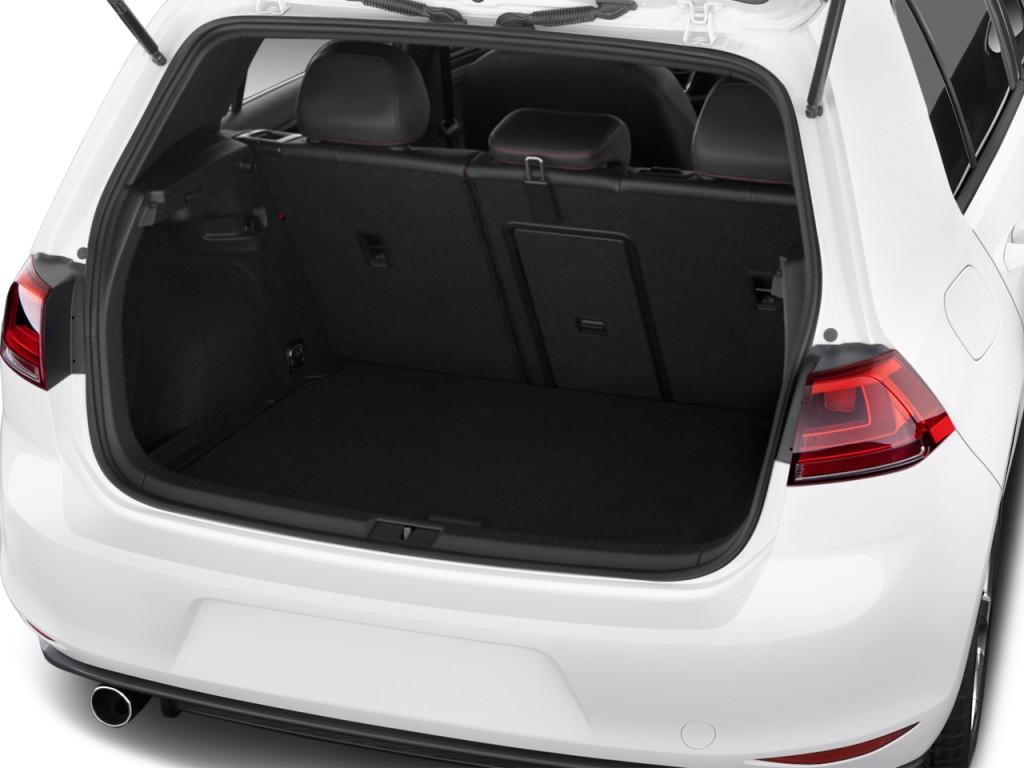 image 2016 volkswagen golf gti 4 door hb dsg se trunk. Black Bedroom Furniture Sets. Home Design Ideas
