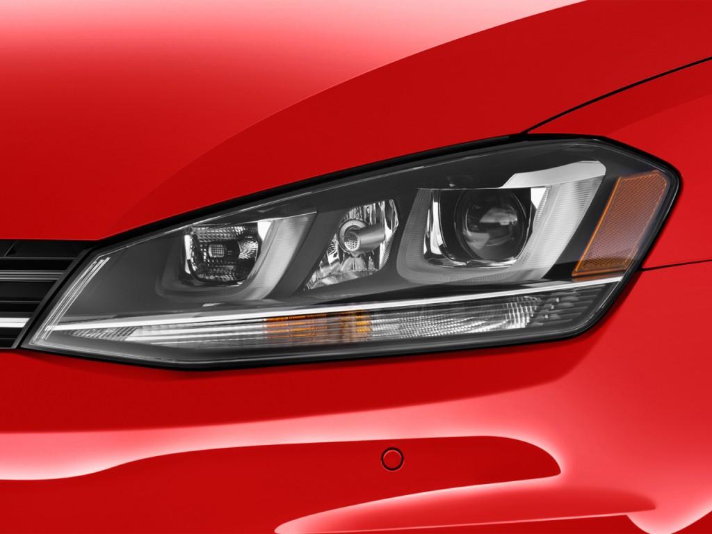 image 2016 volkswagen golf sportwagen 4 door auto tsi sel headlight size 1024 x 768 type. Black Bedroom Furniture Sets. Home Design Ideas