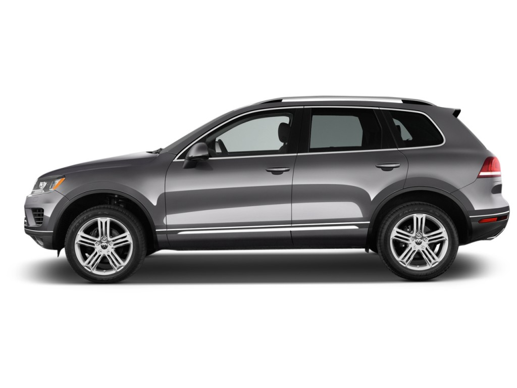 Image: 2016 Volkswagen Touareg 4-door TDI Executive Side ...