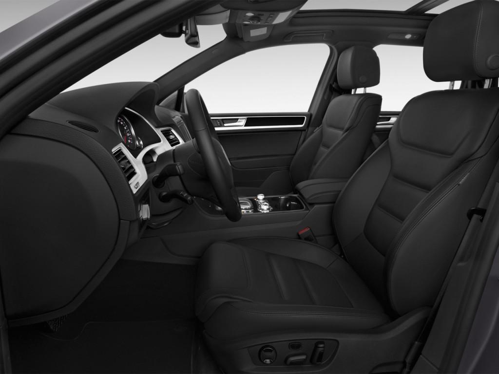 image 2016 volkswagen touareg 4 door tdi lux front seats. Black Bedroom Furniture Sets. Home Design Ideas