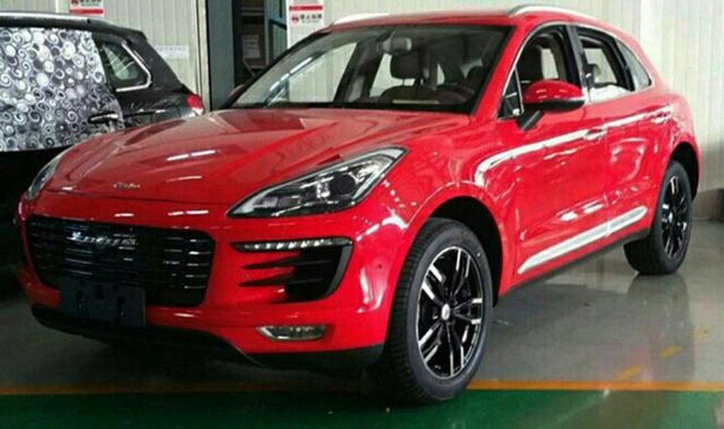 Mercedes Benz Gls 2018 >> Chinese Porsche Macan knockoff is worse than we thought
