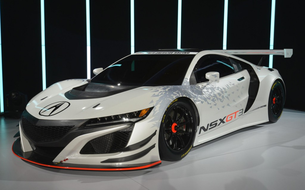 2017 Acura NSX GT3 races into New York: Live photos and video
