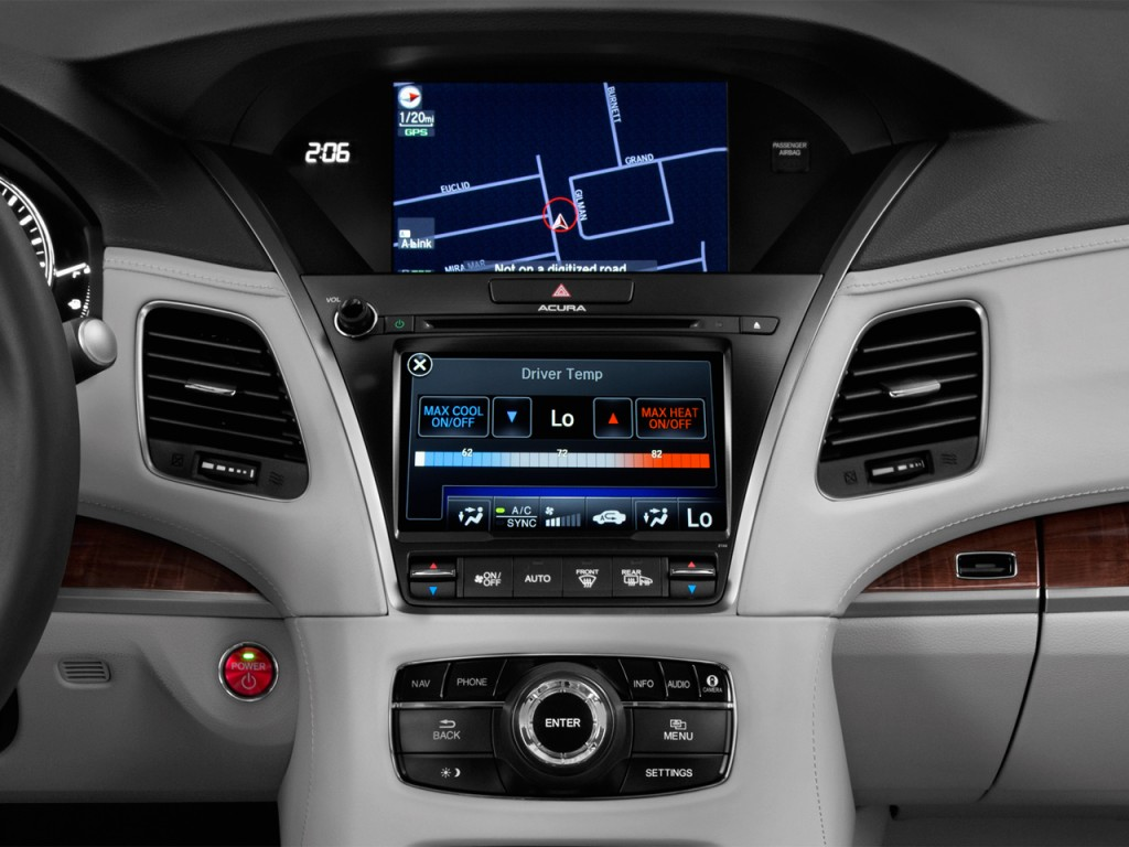 image 2017 acura rlx sedan sport hybrid w advance pkg temperature controls size 1024 x 768. Black Bedroom Furniture Sets. Home Design Ideas