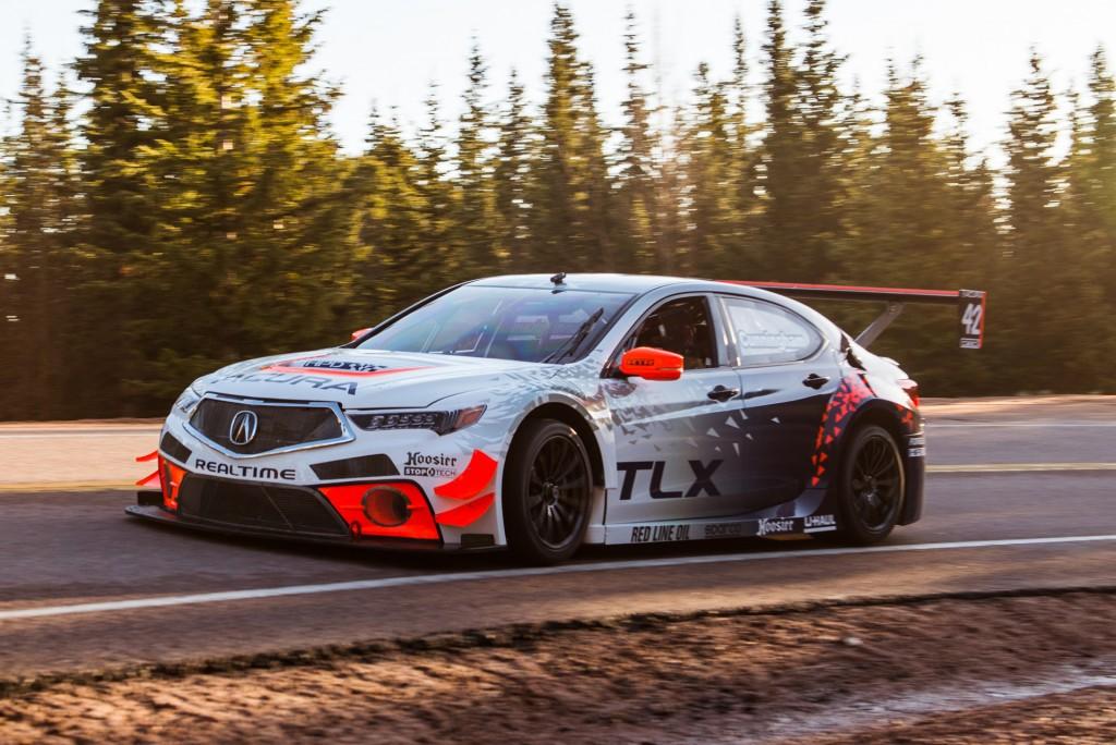 2017 Acura TLX GT race car set for 2017 Pikes Peak International Hill Climb