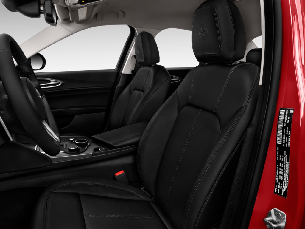 image 2017 alfa romeo giulia rwd front seats size 1024 x 768 type gif posted on april 20. Black Bedroom Furniture Sets. Home Design Ideas
