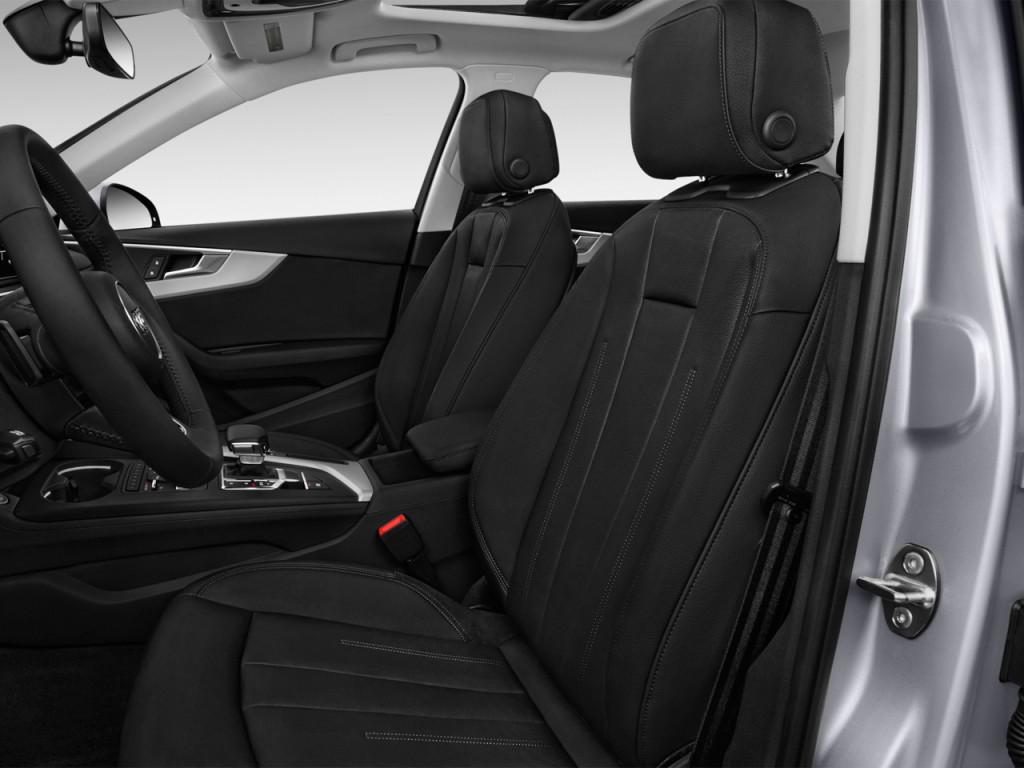 Image: 2017 Audi A4 2.0 TFSI Premium FWD Front Seats, size ...