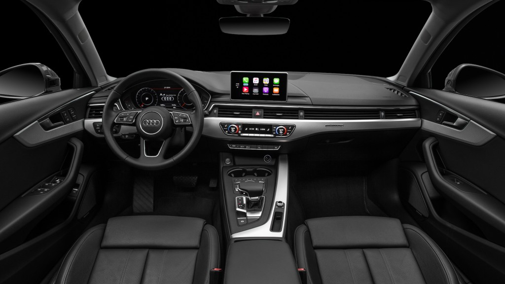 Image: 2017 Audi A4, size: 1024 x 576, type: gif, posted ... Audi A4 2017 Black Edition Interior