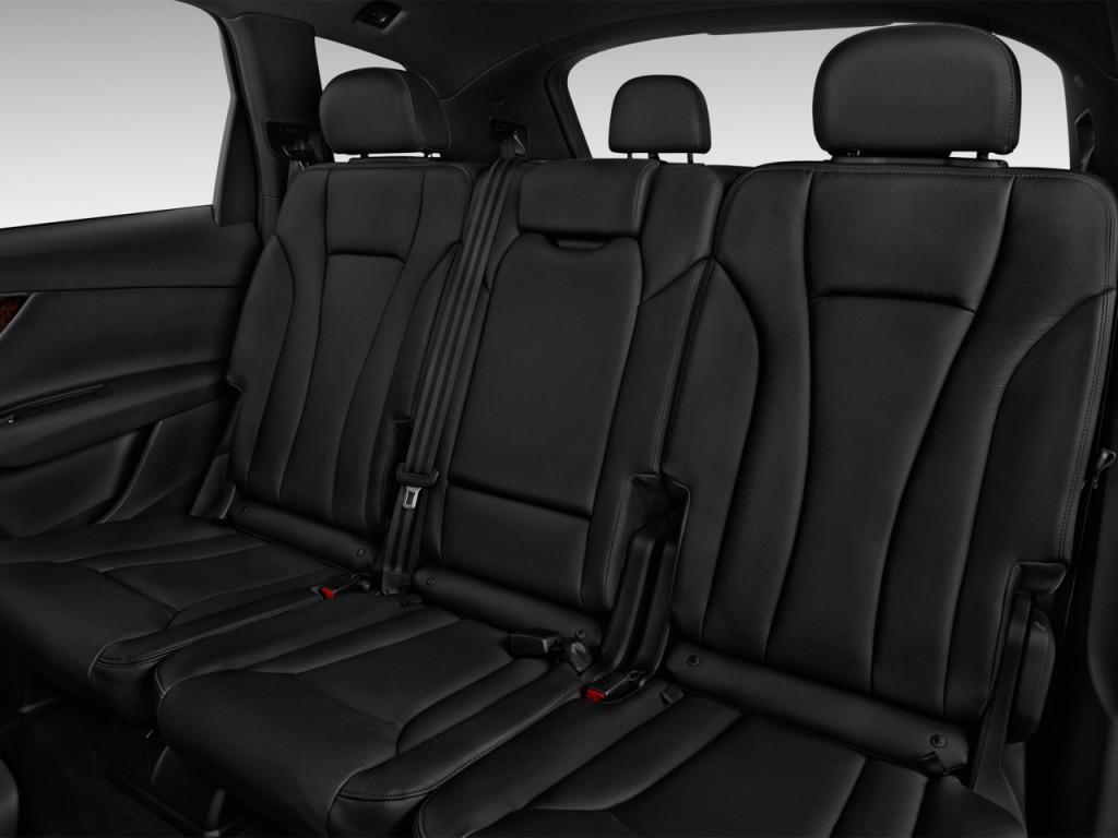 Image: 2017 Audi Q7 3.0 TFSI Premium Rear Seats, size ...
