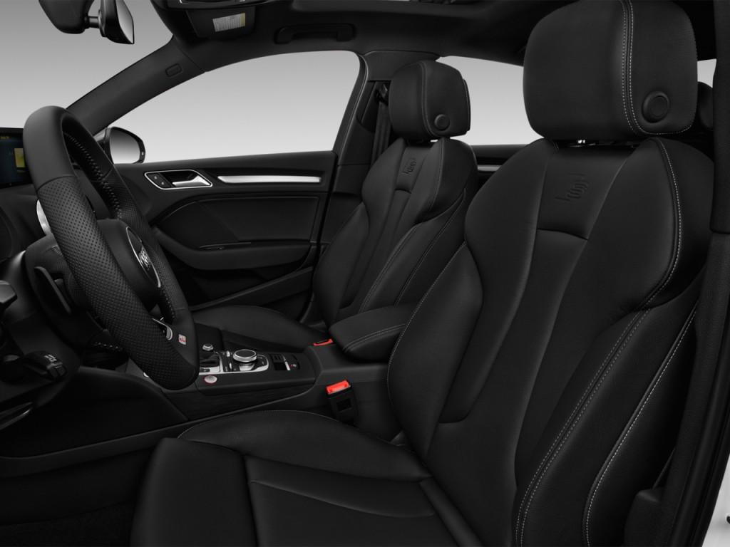 Image: 2017 Audi S3 2.0 TFSI Premium Plus Front Seats ...