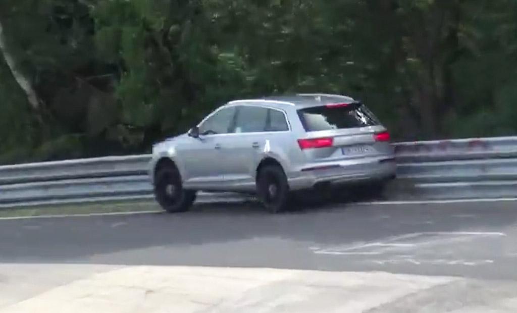 Audi SQ7 Prototype Crashes During Nürburgring Testing: Video