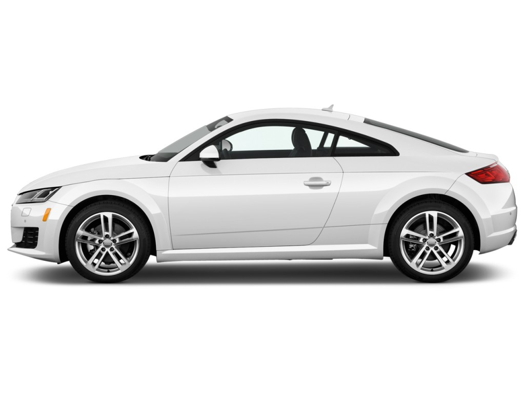 Image 2017 Audi Tt Coupe 2 0 Tfsi Side Exterior View