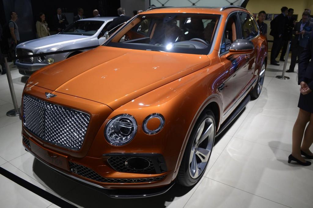 2017 Bentley Bentayga, 2015 Frankfurt Auto Show