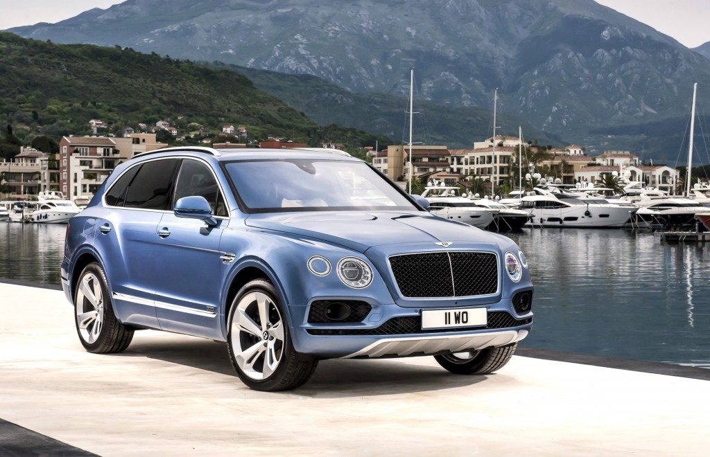 2017 Bentley Bentayga Review Ratings Specs Prices And Photos The Car Connection