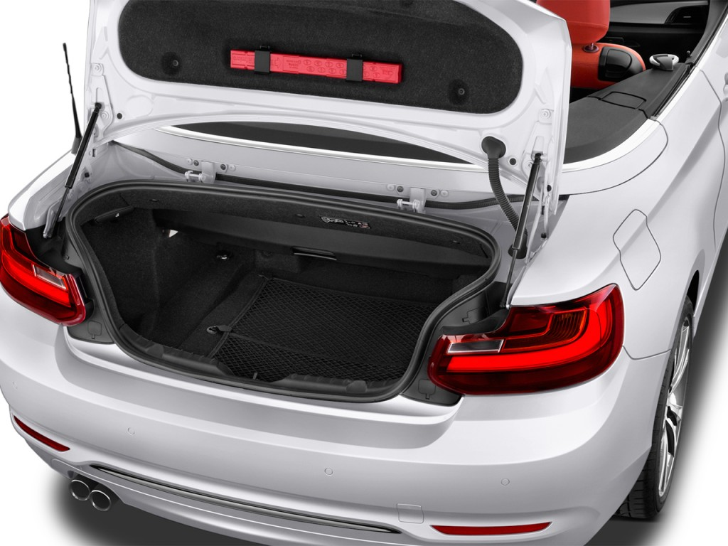 Image 2017 Bmw 2 Series 230i Convertible Trunk Size