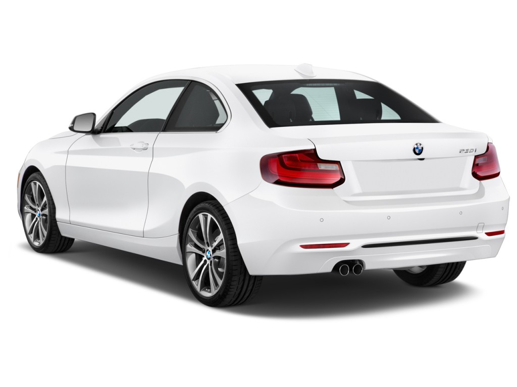 image 2017 bmw 2 series 230i coupe angular rear exterior. Black Bedroom Furniture Sets. Home Design Ideas