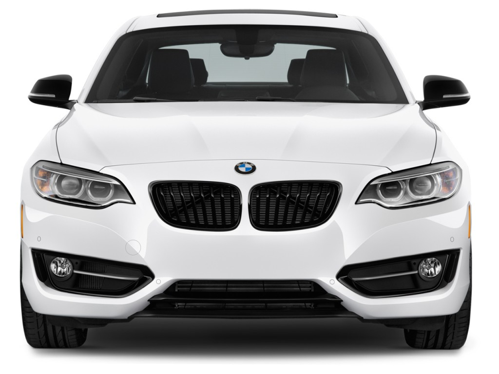 Image 2017 Bmw 2 Series 230i Coupe Front Exterior View