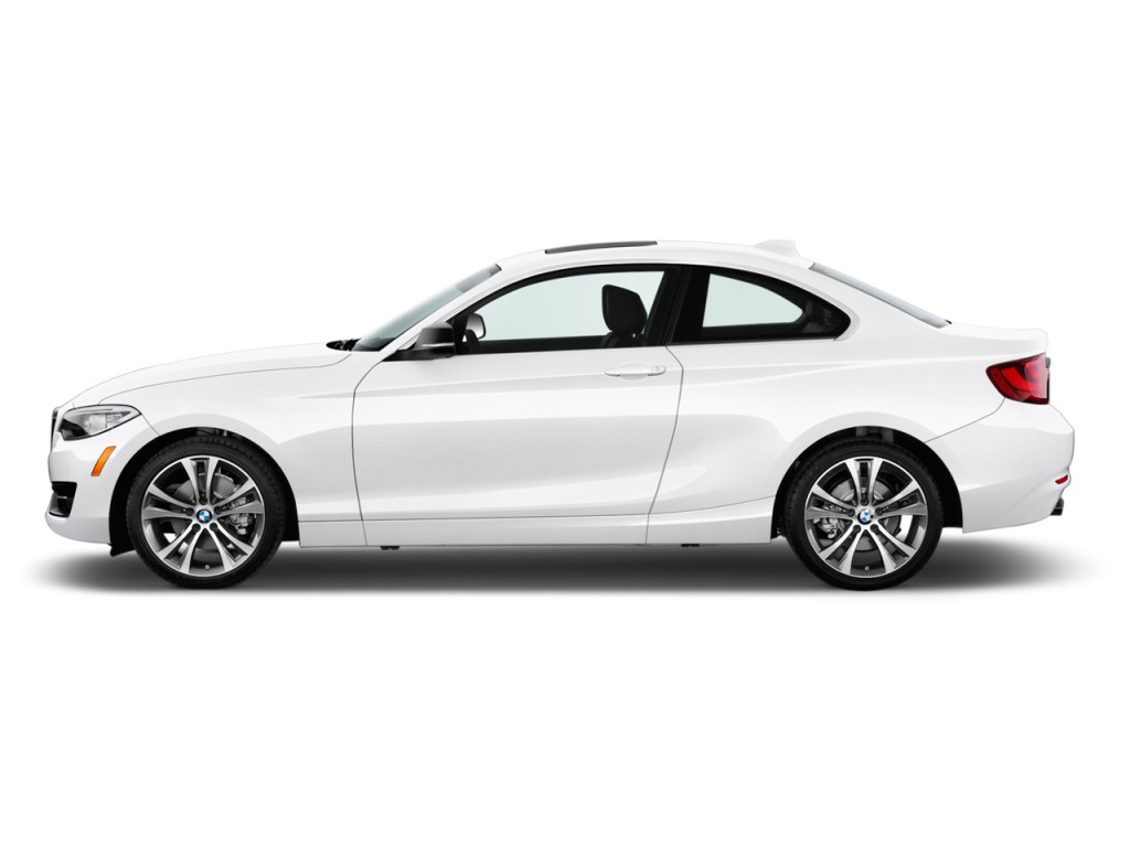 Image 2017 Bmw 2 Series 230i Coupe Side Exterior View