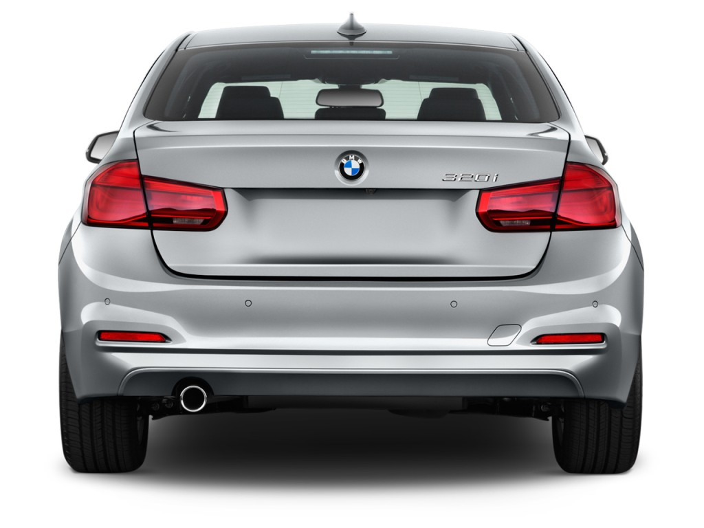 Image 2017 Bmw 3 Series 320i Sedan Rear Exterior View