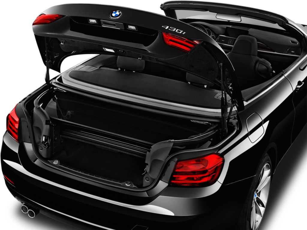 Image 2017 Bmw 4 Series 430i Convertible Sulev Trunk