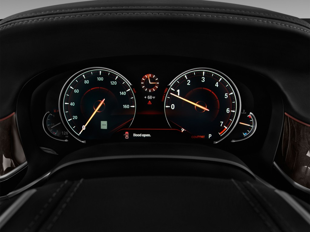 Image: 2017 BMW 7-Series 750i Sedan Instrument Cluster ...