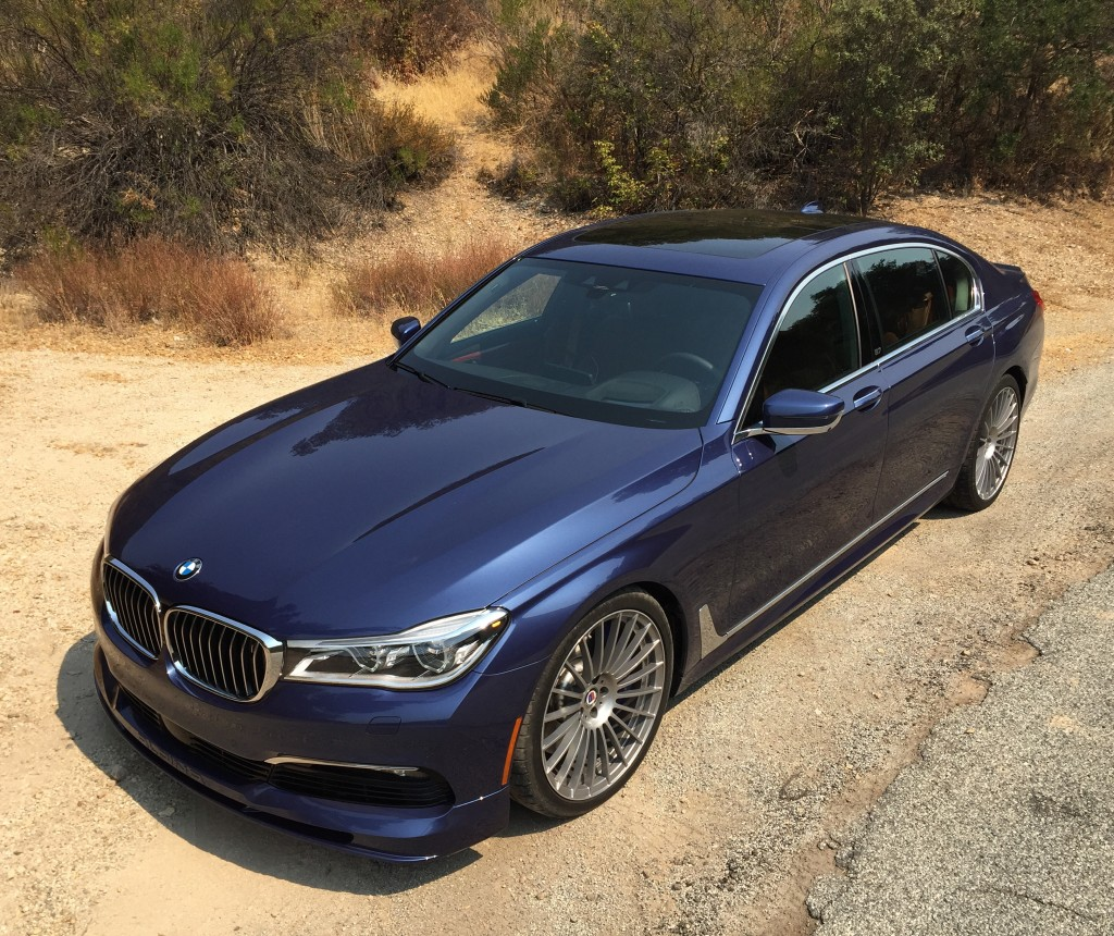 Bmw Xdrive System Review: Image: 2017 BMW Alpina B7 XDrive First Drive Review