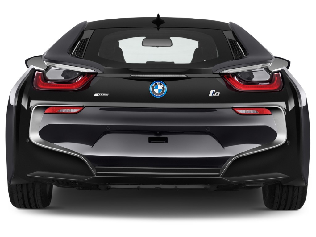 I8 Exterior: Image: 2017 BMW I8 Coupe Rear Exterior View, Size: 1024 X
