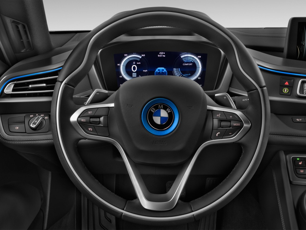 Image 2017 Bmw I8 Coupe Steering Wheel Size 1024 X 768