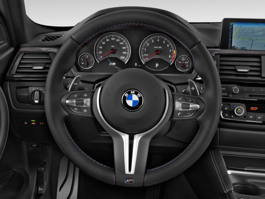 Image 2017 Bmw M3 Sedan Steering Wheel Size 1024 X 768
