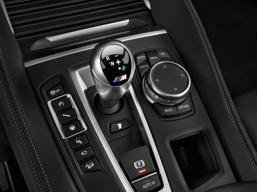 Image 2017 Bmw X6 M Sports Activity Coupe Gear Shift