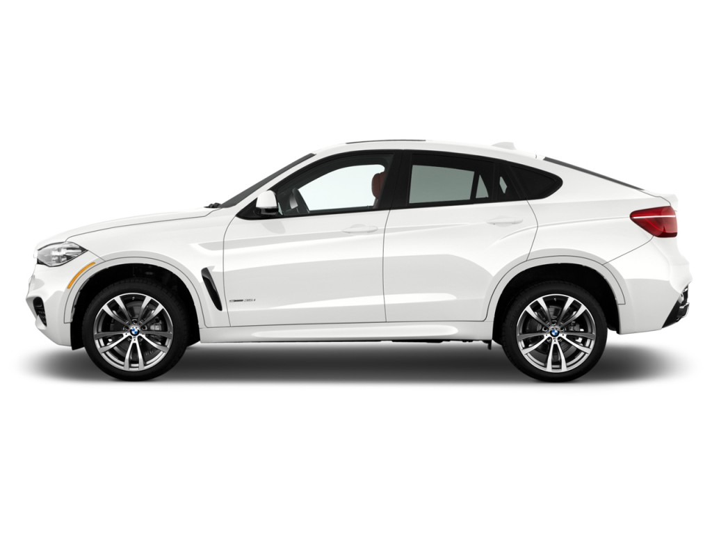 Image 2017 Bmw X6 Sdrive35i Sports Activity Coupe Side Exterior View Size 1024 X 768 Type