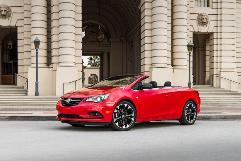 2017 Buick Cascada Review Ratings Specs Prices And Photos The Car Connection