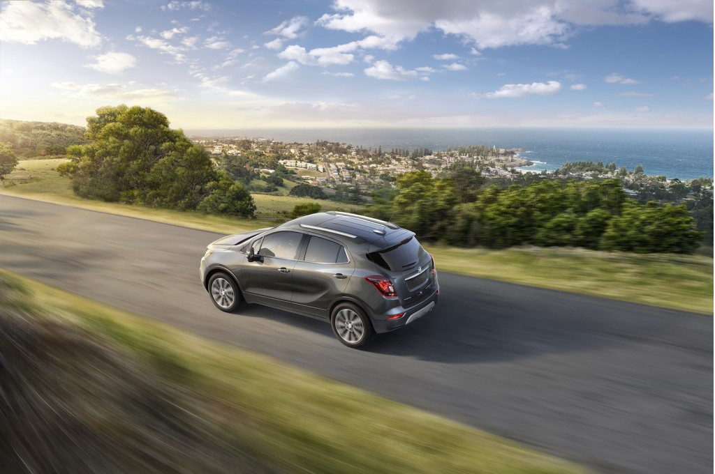 2017 Buick Encore Review Ratings Specs Prices And Photos The Car Connection