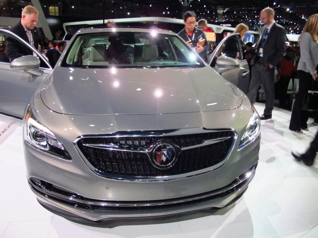 Image: 2017 Buick LaCrosse, 2015 Los Angeles Auto Show ...