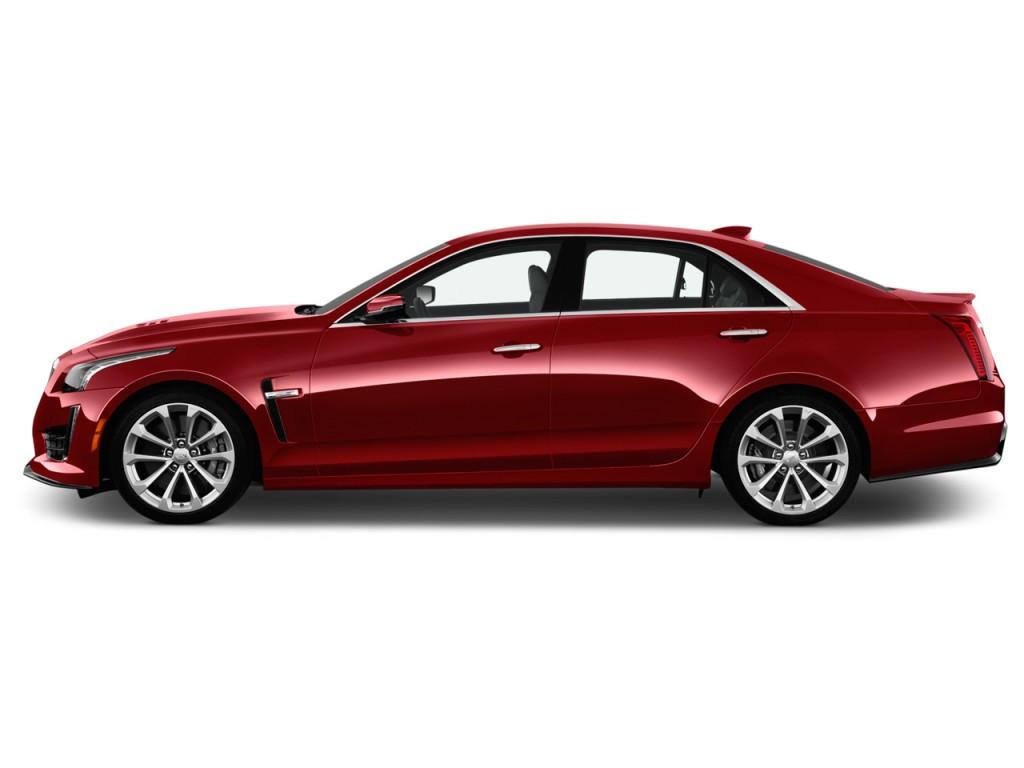 Image 2017 Cadillac Cts V 4 Door Sedan Side Exterior View