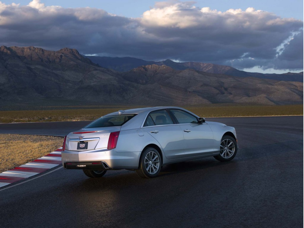 2017 Cadillac Cts Review Ratings Specs Prices And Photos The Car Connection